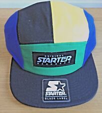 Gorra Sombrero Starter Béisbol Negro azul verde y Yelow Auténtica Original
