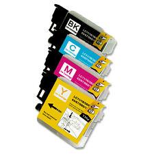4 PK NEW Premium Ink Set for Series LC61 Brother MFC J220 J265w 270w J410w