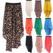 Knee-Length Summer/Beach Asymmetrical Skirts for Women
