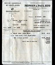 "PARIS (XII°) SCIES & OUTILS tranchants ""Paul HUG & MONGIN"" en 1932"