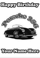 Porsche 356 Happy Birthday A5 Personalised Card pid362