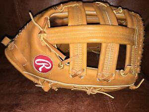 """Rawlings PRO SB-T Horween made in USA. Gold Label Glove 13.5"""" HOH"""