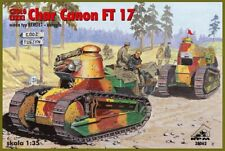 Char Canon Renault Ft 17 Tank with Girod Turret (1/35 model kit, Rpm 35062)