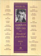 dvd HIER IS...ADRIAAN VAN DIS - 100 gesprekken - deel I t/m V (compleet)