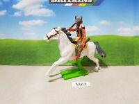 Britains Deetail Wild West Mounted Indian (lot 3267)