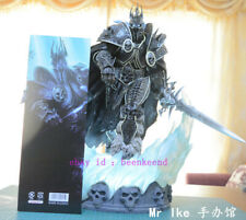 Tftoys World Of Warcraft Lich King Arthas Menethil Gk Resin Led Statue In Stock