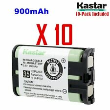 Kastar HHR-P107 ( 10 Pack) Cordless Phone Battery For Panasonic Type 35