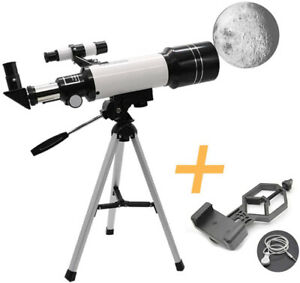 F40070M HD Astronomical Telescope with Tripod Monocular Moon Bird Watching Kids.