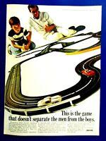 "Stirling Moss Men From Boys 1966 AURORA Original Print Ad 8.5 x 11"""