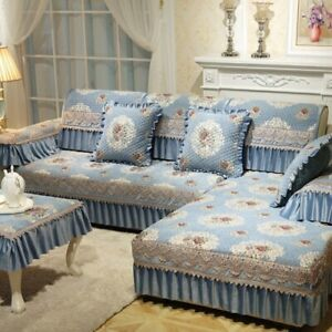 Sofa Cover Jacquard Floral Sofa Towel Slip-resistence Sectional Sofa Couch Cover