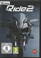 Ride 2 (PC, 2016, sólo la Steam key descarga código) no DVD, sólo Steam key código