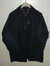 barbour bedale jacket waxed cotton  blue 100%authentic c46/117 XL