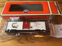 Lionel 6-36881 Christmas Music Boxcar-12 Songs-Holiday Edition 2008