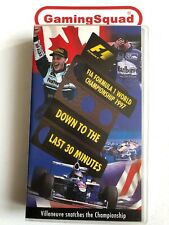 Formula 1 Official Review 1997 VHS Video Retro, Supplied by Gaming Squad