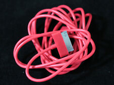 2 X 6FT Long Red USB Data Sync Cable Charge Cord For iPhone 3GS 4 4S iPad 1 2