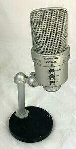 Samson G-Track USB Studiomikrofon mit integriertem Audiointerface C36 2391 i10