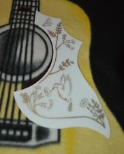 Gibson Hummingbird / Epihone White / Gold  Acoustic Pick Guard PG-9801
