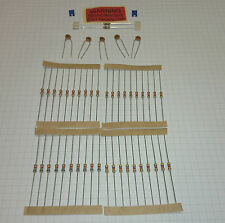 End of line (termination) resistor pack  - 5 ohmic values .