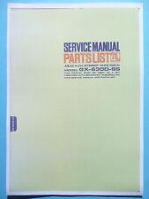 Service Manual-Anleitung für Akai GX-630D-SS