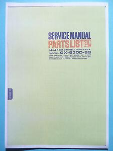 Service Manual For Akai GX-630D-SS