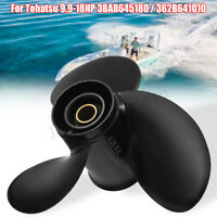 9 1/4 x 9 Aluminum Boat Outboard Propeller For Tohatsu Mercury Engines 9.9-18HP