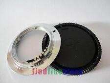 brass AF Confirm M42 lens to Sony Alpha Minolta AF adapter A65 A77 a5D a7D + CAP