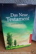 DIE BIBEL Hoffnung für alle Das Neue Testament Green Edition und die Psalmen.