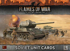 Flames of War BNIB Armies of Late War: Soviet Unit Cards FW130S
