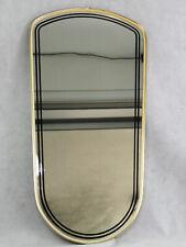 Großer MID CENTURY Wandspiegel - Vintage Spiegel 50er Jahre Mirror - 75 cm