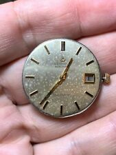 Certina Automatic Blue Ribbon Movement Cal 25-651 Working For Parts Repair