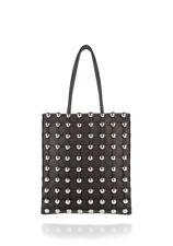 907917e595b9 ALEXANDER WANG Black Dome Cage Studded Stud Shopper Tote Magnetic Handbag  NEW