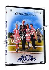 MEET THE APPLEGATES WIDESCREEN DVD (1990) Ed Begley Stockard Channing NTSC RARE!