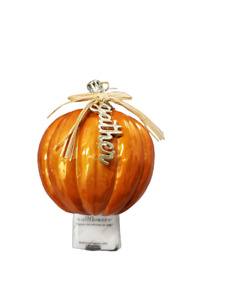 Bath and Body Works Orange Pumpkin Gather Wallflower Warmer Plug