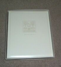 Hallmark Keepsake Wedding Album Memory Book Ivory Embossed House Binder In Box