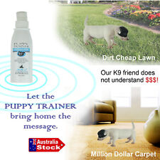 PETDOCTOR PETS DOGS PUPPY TOILET POTTY TRAINING AID SPRAY INDOOR / OUTDOOR LAWN