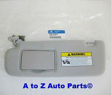 NEW & IMPROVED 2009-2010 Hyundai Sonata DRIVER SIDE Grey SUN VISOR,OEM Hyundai