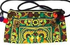 Handmade Thai Hmong Tribal Ethnic Embroidered Tote Shoulder Bag Handbag Purse B4
