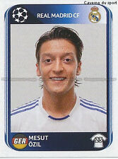 N°442 OZIL # DEUTSCHLAND REAL MADRID UEFA CHAMPIONS LEAGUE 2011 STICKER PANINI