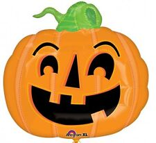 Grand Citrouille Halloween Forme Film Ballon en Aluminium