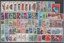 SPAIN - ESPAÑA - YEAR 1966 COMPLETE WITH ALL THE STAMPS MNH (WITH REG. SHIELDS)