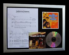 MAMAS & PAPAS California LTD TOP QUALITY CD FRAMED DISPLAY+EXPRESS GLOBAL SHIP
