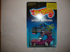 1986 Hot Wheels Rodzilla Speed Demons #4389 Purple Unpunched vintage FREE SHIP