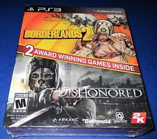 Borderlands 2 & Dishonored Sony Playstation 3 *Factory Sealed! *Free Shipping!