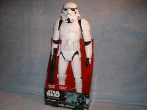 "Stormtrooper Rogue One Star Wars Big Figs 18"" Jakks Pacific Disney New Sealed"