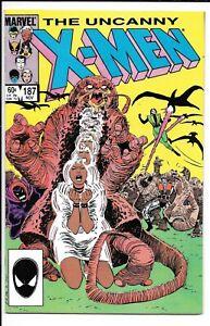 UNCANNY X-MEN #187 --- 1ST APP NAZE!! CLAREMONT!! 1ST PRINT!! Nov 1984!! NM-