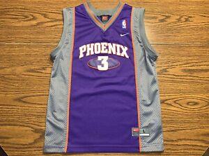 Youth Nike Team Phoenix Suns Stephon Marbury #3 Stitched Jersey Size Large