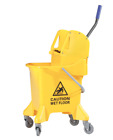 Mop Bucket with Wringer Down press 33 Quart