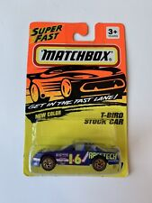 1993 Matchbox Super Fast T-Bird Stock Car #7 New Color