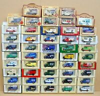 "LLEDO PROMOTIONAL LIMITED EDITION MODELS 1930's FORD MODEL ""A"" VANS - LOT 13C"