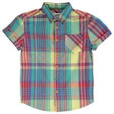 Ben Sherman Boys' Checked Casual T-Shirts, Tops & Shirts (2-16 Years)